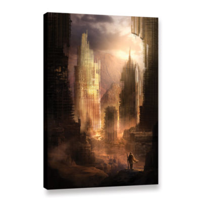 Brushstone The Arrival Gallery Wrapped Canvas WallArt