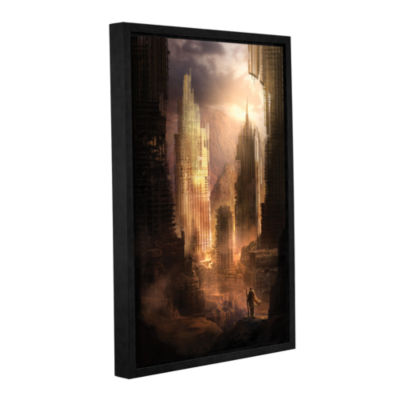 Brushstone The Arrival Gallery Wrapped Floater-Framed Canvas Wall Art