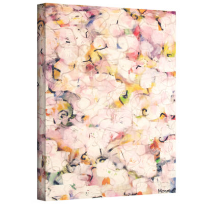 Brushstone Undress Gallery Wrapped Canvas
