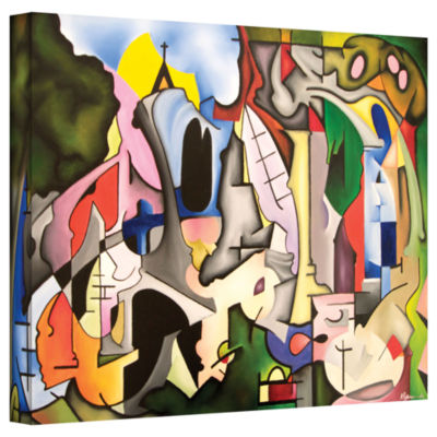 Brushstone Unified Theory Gallery Wrapped Canvas Wall Art
