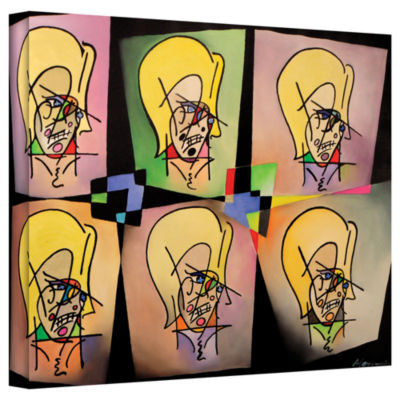 Brushstone Warhol And Picasso In Love With My MomGallery Wrapped Canvas Wall Art
