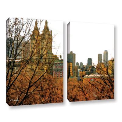 Brushstone Urban Autumn NYC 2-pc. Gallery WrappedCanvas Set
