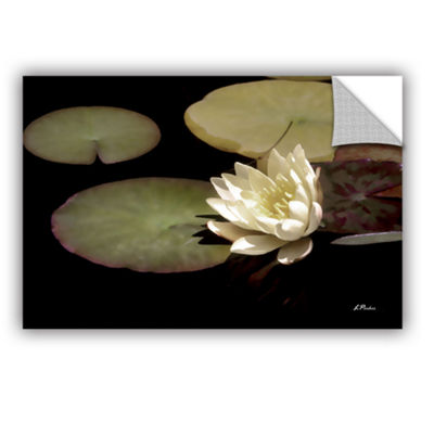 Brushstone Water Lily I Removable Wall Decal