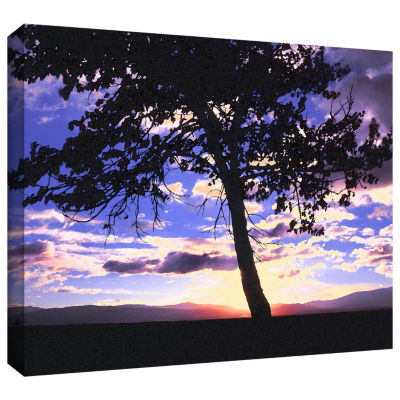 Brushstone Teton Meadow Sunrise Gallery Wrapped Canvas Wall Art