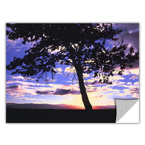 Brushstone Teton Meadow Sunrise Removable Wall Decal