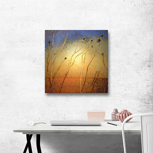 Brushstone Texas Sand Storm Gallery Wrapped CanvasWall Art