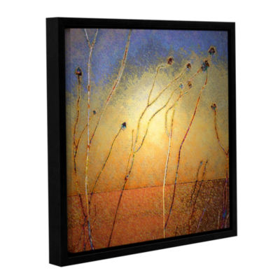 Brushstone Texas Sand Storm Gallery Wrapped Floater-Framed Canvas Wall Art