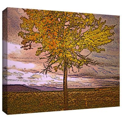 Brushstone Teton Meadow Fall Gallery Wrapped Canvas Wall Art