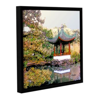 Brushstone Urban Calm Gallery Wrapped Floater-Framed Canvas