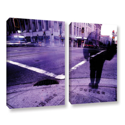 Brushstone Sutter And Powell 2-pc. Gallery WrappedCanvas Wall Art