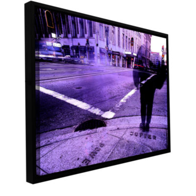 Brushstone Sutter And Powell Gallery Wrapped Floater-Framed Canvas Wall Art