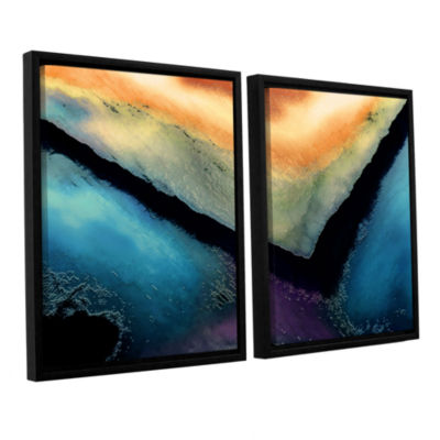 Brushstone The Brink 2-pc. Floater Framed Canvas Wall Art