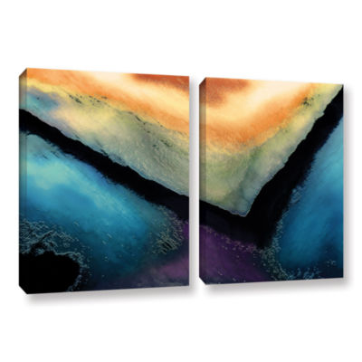 Brushstone The Brink 2-pc. Gallery Wrapped CanvasWall Art