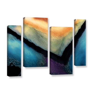 Brushstone The Brink 4-pc. Gallery Wrapped Staggered Canvas Wall Art