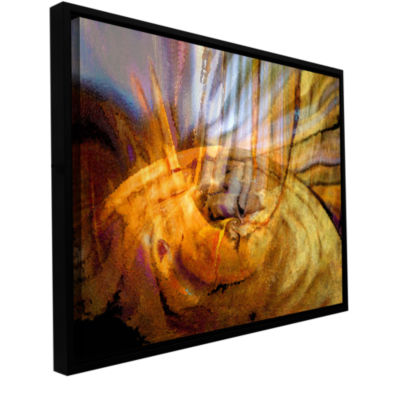 Brushstone Tempest Vortex Gallery Wrapped Floater-Framed Canvas Wall Art
