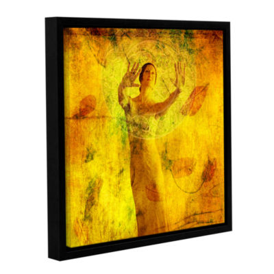 Brushstone Visualize and Manifest Gallery WrappedFloater-Framed Canvas