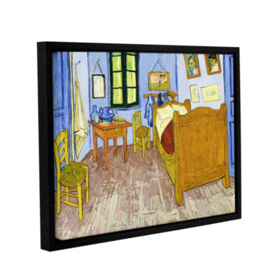 Brushstone The Bedroom Gallery Wrapped Floater-Framed Canvas Wall Art