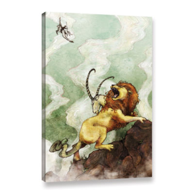 Brushstone The Chimera Gallery Wrapped Canvas WallArt