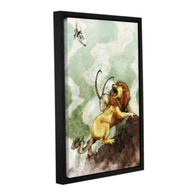 Brushstone The Chimera Gallery Wrapped Floater-Framed Canvas Wall Art