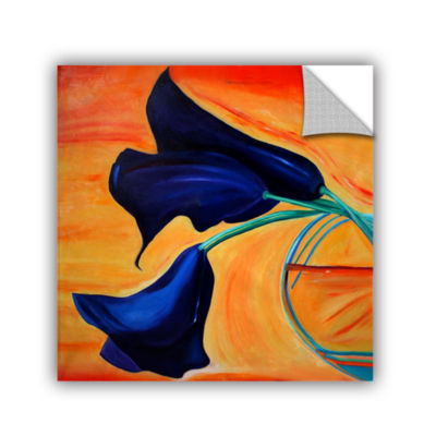 Brushstone The Calla Lilys Removable Wall Decal