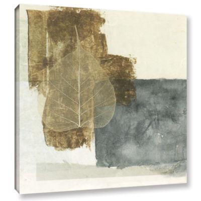 Brushstone Wabi-Sabi Bodhi Leaf Collage 5 GalleryWrapped Canvas Wall Art
