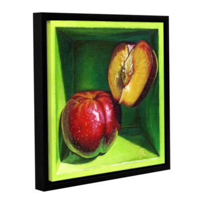 Brushstone Sweet Cheeks Gallery Wrapped Floater-Framed Canvas Wall Art