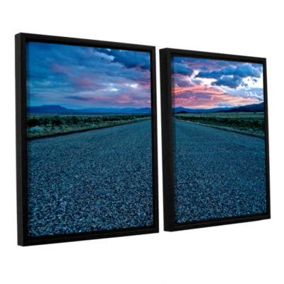 Brushstone US 91 2-pc. Floater Framed Canvas Set