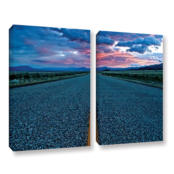 Brushstone Us 91 2-pc. Gallery Wrapped Canvas Art