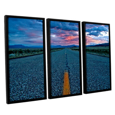 Brushstone US 91 3-pc. Floater Framed Canvas Set