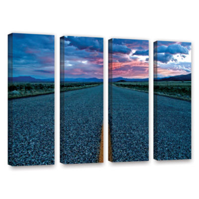 Brushstone Us 91 4-pc. Gallery Wrapped Canvas WallArt