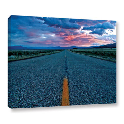 Brushstone US 91 Gallery Wrapped Canvas