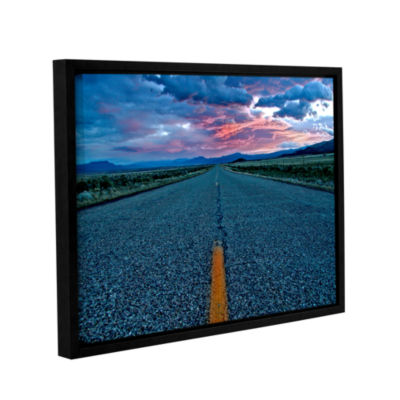 Brushstone US 91 Gallery Wrapped Floater-Framed Canvas