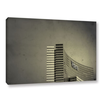 Brushstone Vdara Gallery Wrapped Canvas