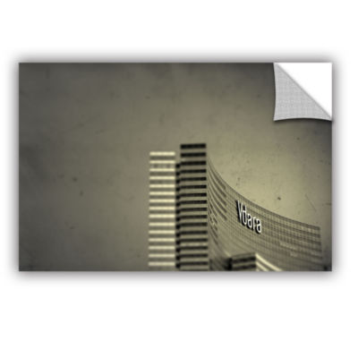 Brushstone Vdara Removable Wall Decal