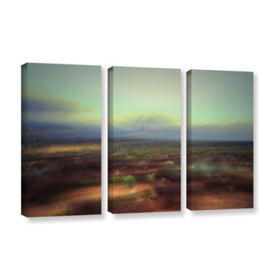 Brushstone Washed Away 3-pc. Gallery Wrapped Canvas Wall Art