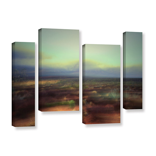 Brushstone Washed Away 4-pc. Gallery Wrapped Canvas Staggered Set