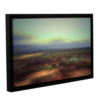 Brushstone Washed Away Gallery Wrapped Floater-Framed Canvas