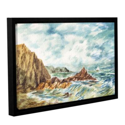 Brushstone Vintage Storm Gallery Wrapped Floater-Framed Canvas