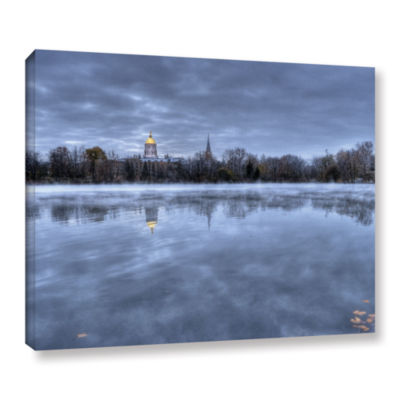 Brushstone The Basilica-Notre Dame Gallery WrappedCanvas Wall Art