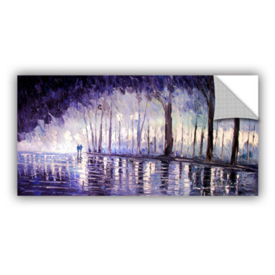 Brushstone Ultra Violet Removable Wall Decal