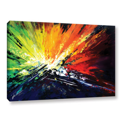 Brushstone Vibrance 2 Gallery Wrapped Canvas WallArt