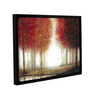 Brushstone The Colors Of Autumn Gallery Wrapped Floater-Framed Canvas Wall Art