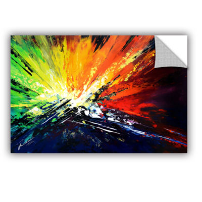 Brushstone Vibrance 2 Removable Wall Decal