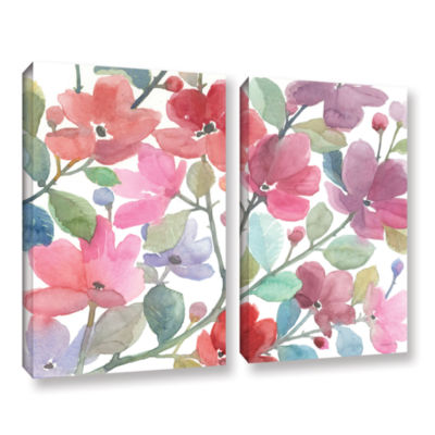 Brushstone The Colors Of Spring 2-pc. Gallery Wrapped Canvas Wall Art