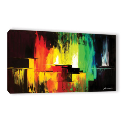 Brushstone Vibrance Gallery Wrapped Canvas