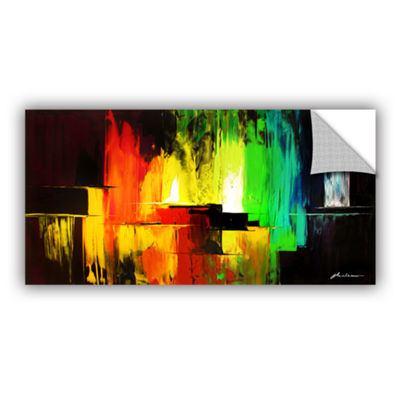 Brushstone Vibrance Removable Wall Decal