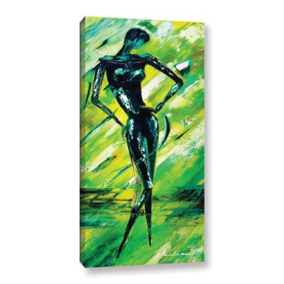Brushstone Vixen 2 Gallery Wrapped Canvas