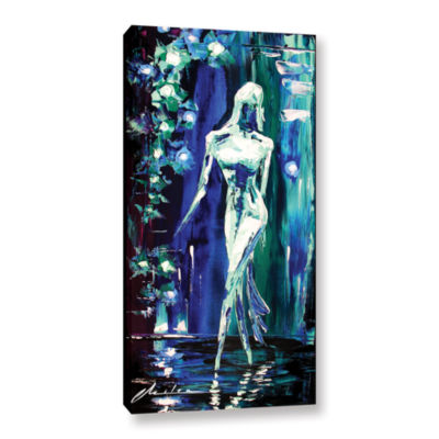 Brushstone Vixen Gallery Wrapped Canvas Wall Art