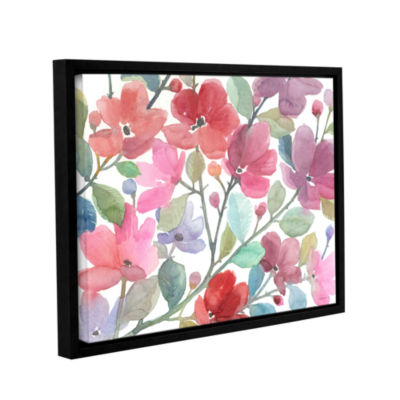 Brushstone The Colors Of Spring Gallery Wrapped Floater-Framed Canvas Wall Art