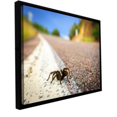 Brushstone Tarantula Gallery Wrapped Floater-Framed Canvas Wall Art